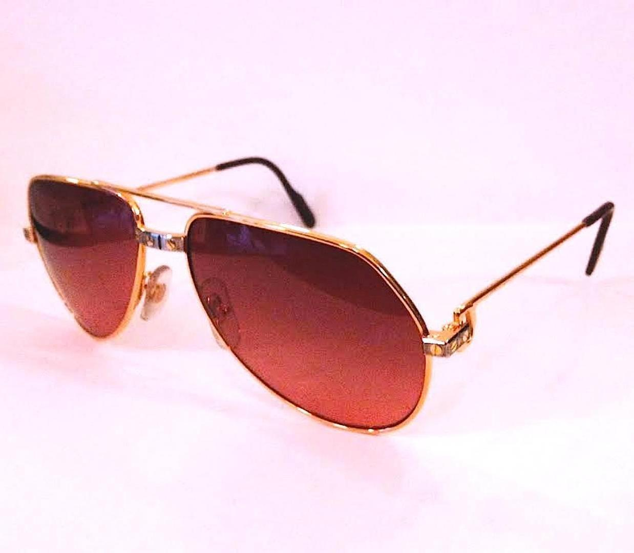 e11501a8c99 Cartier Aviators Sunglasses