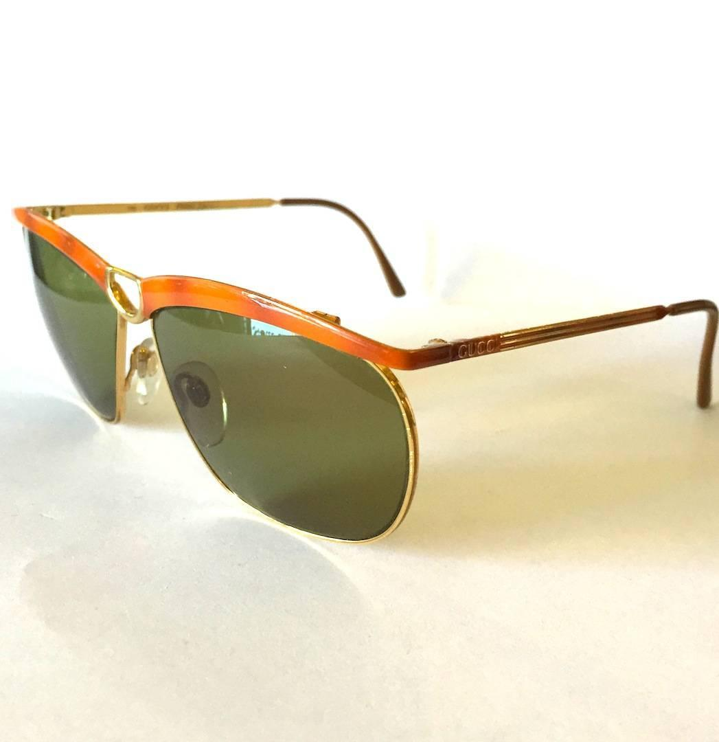 1970s Vintage Gucci Sunglasses at 1stdibs