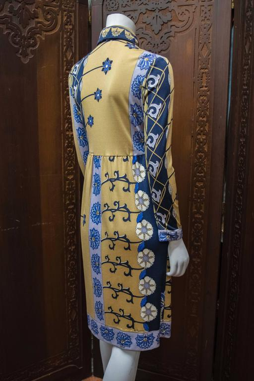 1970s Paganne Day Dress In Excellent Condition For Sale In San Francisco, CA