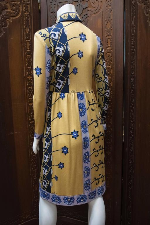 Women's 1970s Paganne Day Dress For Sale