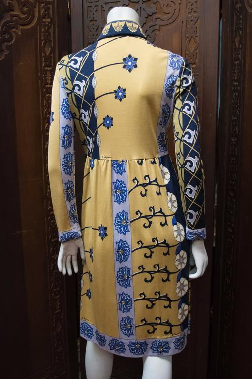 1970s Paganne Day Dress For Sale 1