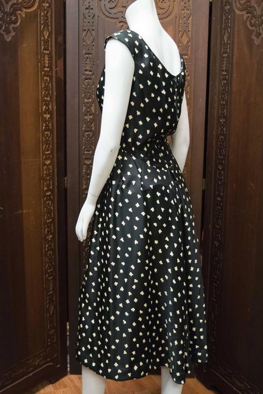 1950s Popcorn Print Dress 5