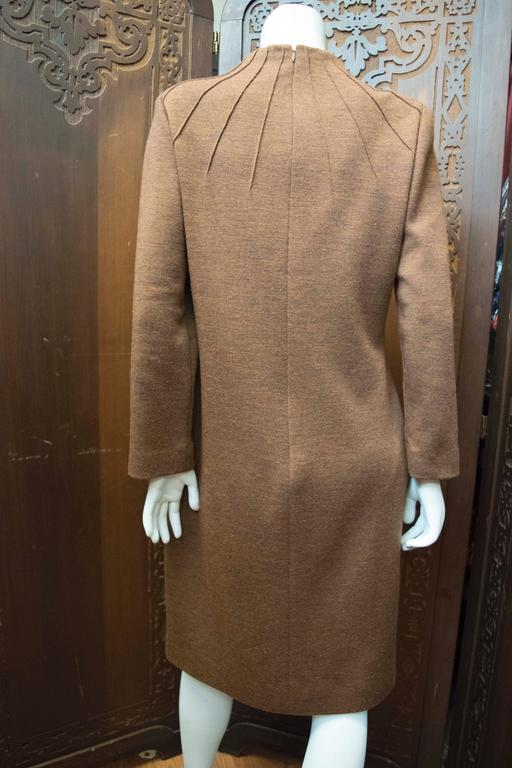 1980s Carolina Herrera Sack Dress In Excellent Condition For Sale In San Francisco, CA