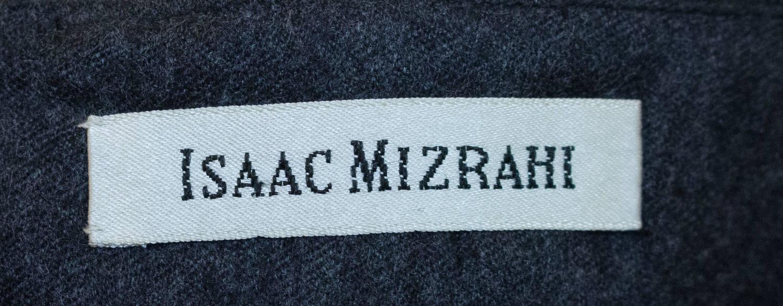 80s Isaac Mizrahi Charcoal Strapless Column Dress For Sale At 1stdibs