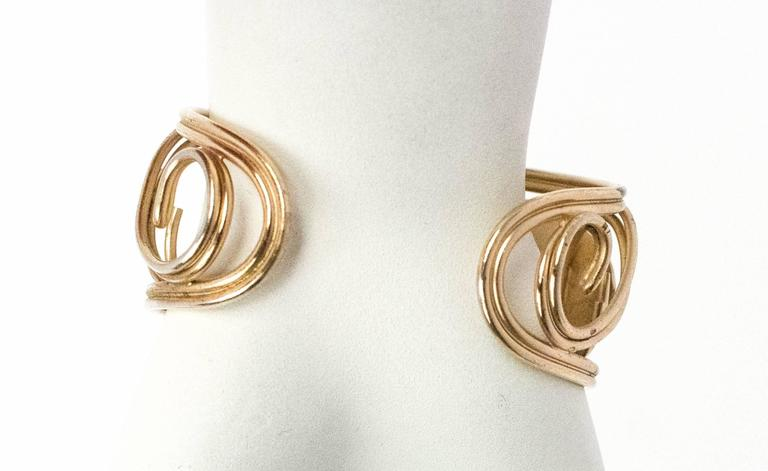 60s Napier Cuff Earring set For Sale 3