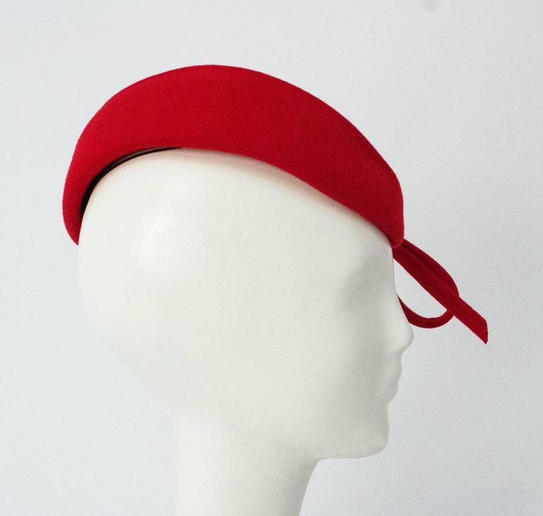 Red Adolfo II Toy Hat.