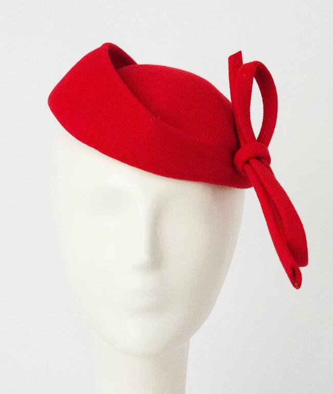 Red Adolfo II Toy Hat 1