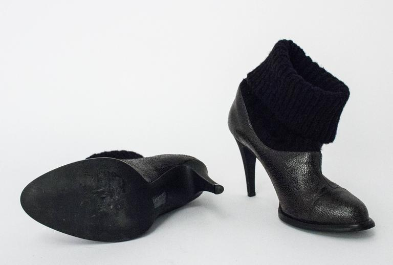 90s Stella McCartney Sock Bootie In Good Condition For Sale In San Francisco, CA