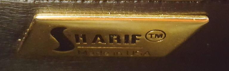 1980s Sharif Multi Pieced Leather Purse For Sale 1