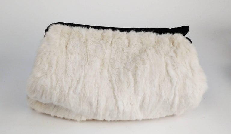 1940s Mink Hat & Muff Set In Excellent Condition For Sale In San Francisco, CA