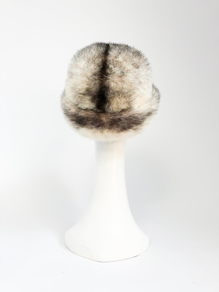 1960s Mink I. Magnin Hat In Good Condition For Sale In San Francisco, CA