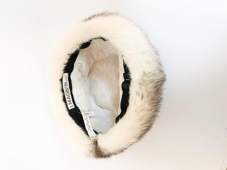 Women's 1960s Mink I. Magnin Hat For Sale