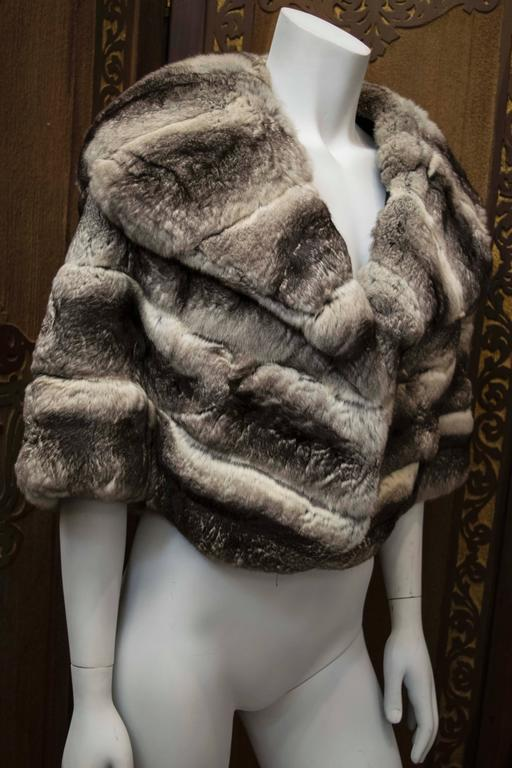 1960s Chinchilla Fur Stole For Sale At 1stdibs