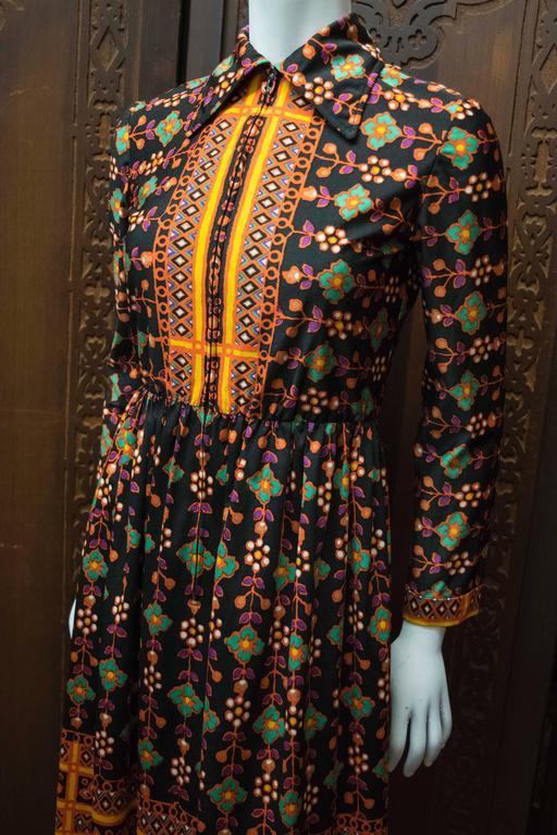 1960s Oscar De La Renta Dress 3
