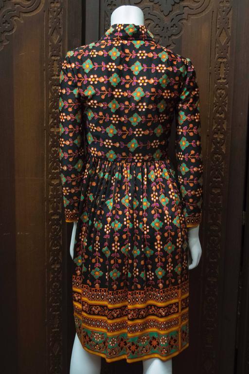 1960s Oscar De La Renta Dress 5