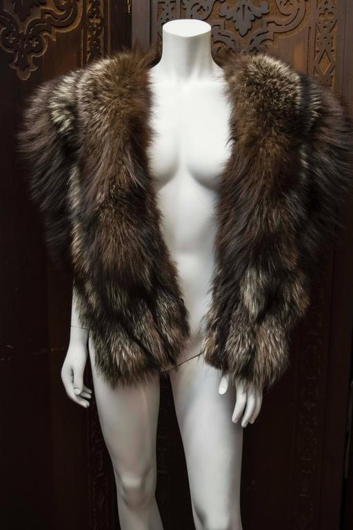 Silver Fox Fur Wrap 5