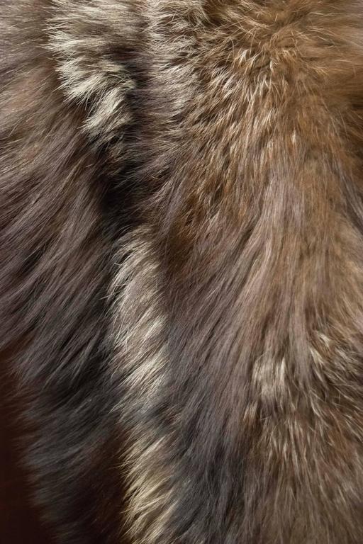 Silver Fox Fur Wrap 6