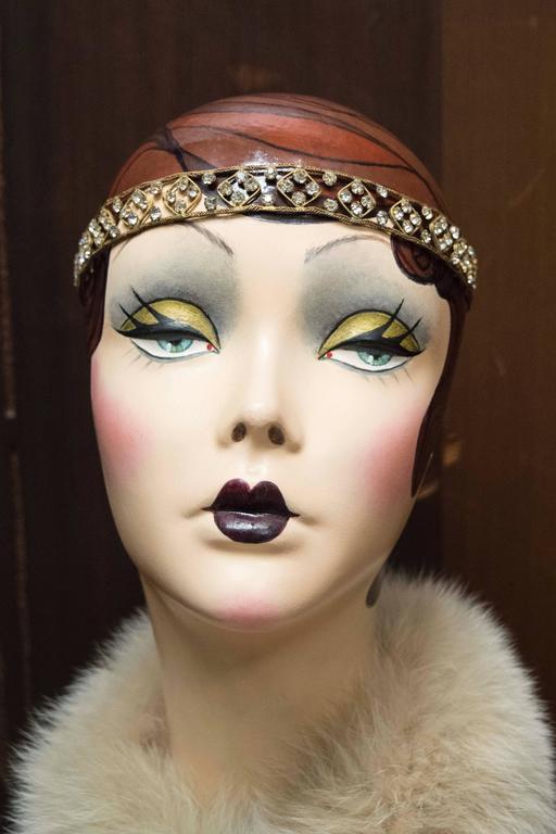 1920s Crystal Headband   4