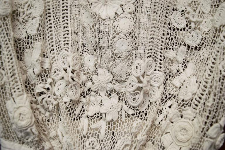 Edwardian Irish Crochet Blouse 4