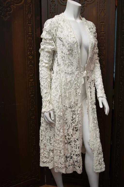 Edwardian Irish Crochet Jacket  4