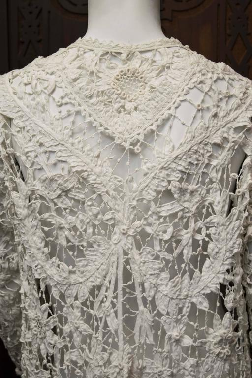 Edwardian Irish Crochet Jacket  6