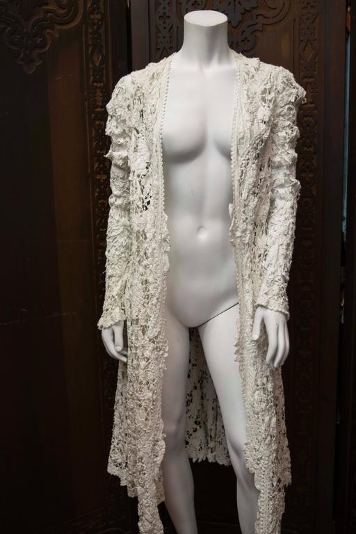 Edwardian Irish Crochet Jacket  2