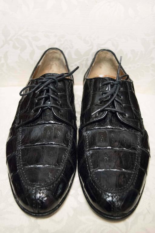Belvedere Mens Crocodile Shoes At 1stdibs