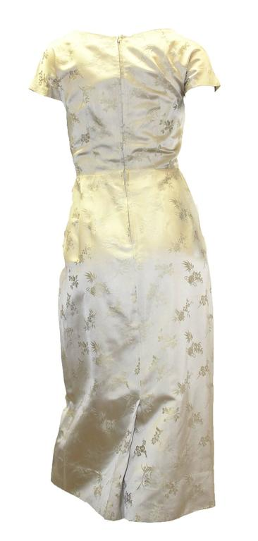 1950s Silk Two Piece Chinoiserie Evening Set   In Excellent Condition For Sale In San Francisco, CA