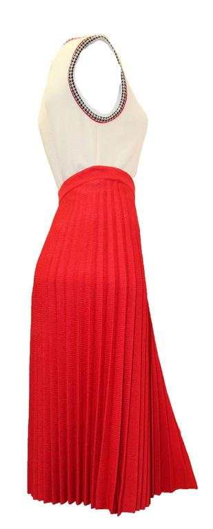 1960s St. John Pleated Skirt Set   3