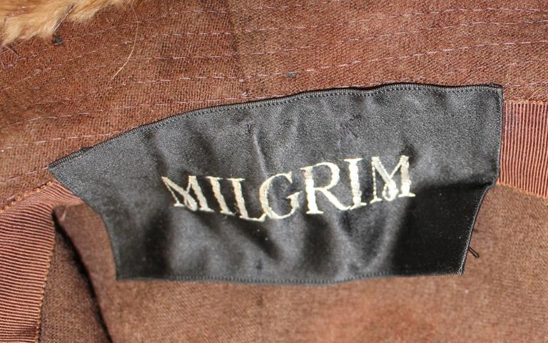 Women's 60s Mink Hat  For Sale