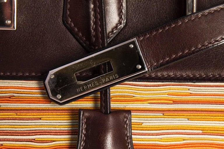Hermès Vibrato handbag. For Sale 4