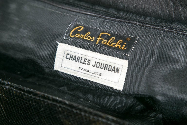 Women's Carlos Falchi/Charles Jourdan Parallele Overnighter Presented by Funky Finders For Sale