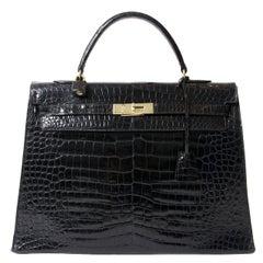 Hermès Kelly Bag Croco Prosorus 35