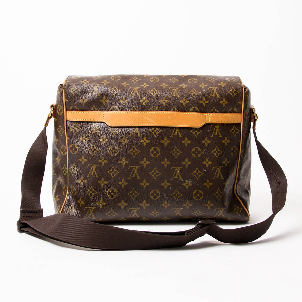Louis vuitton abbesses messenger bag at 1stdibs for Louis vuitton miroir bags