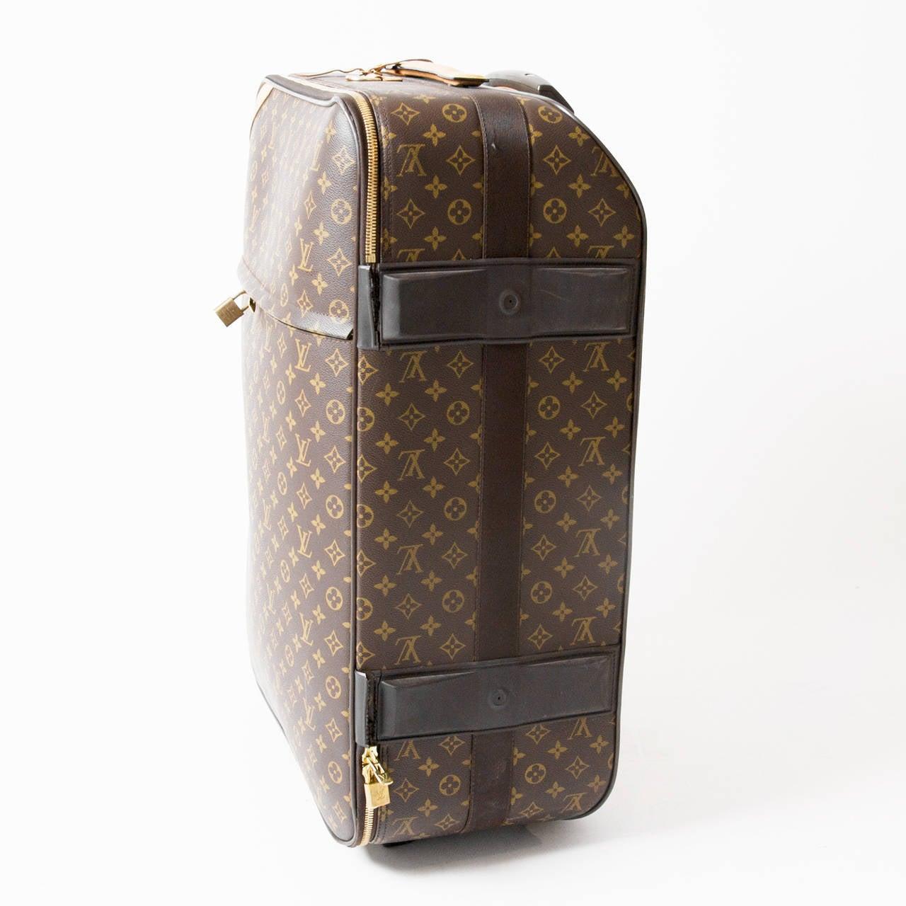 Louis Vuitton Luggage Trolley Pegase 65 At 1stdibs