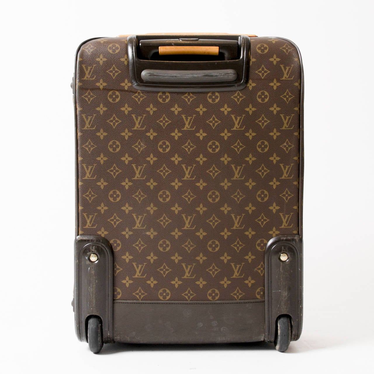 louis vuitton luggage trolley pegase 55 at 1stdibs. Black Bedroom Furniture Sets. Home Design Ideas