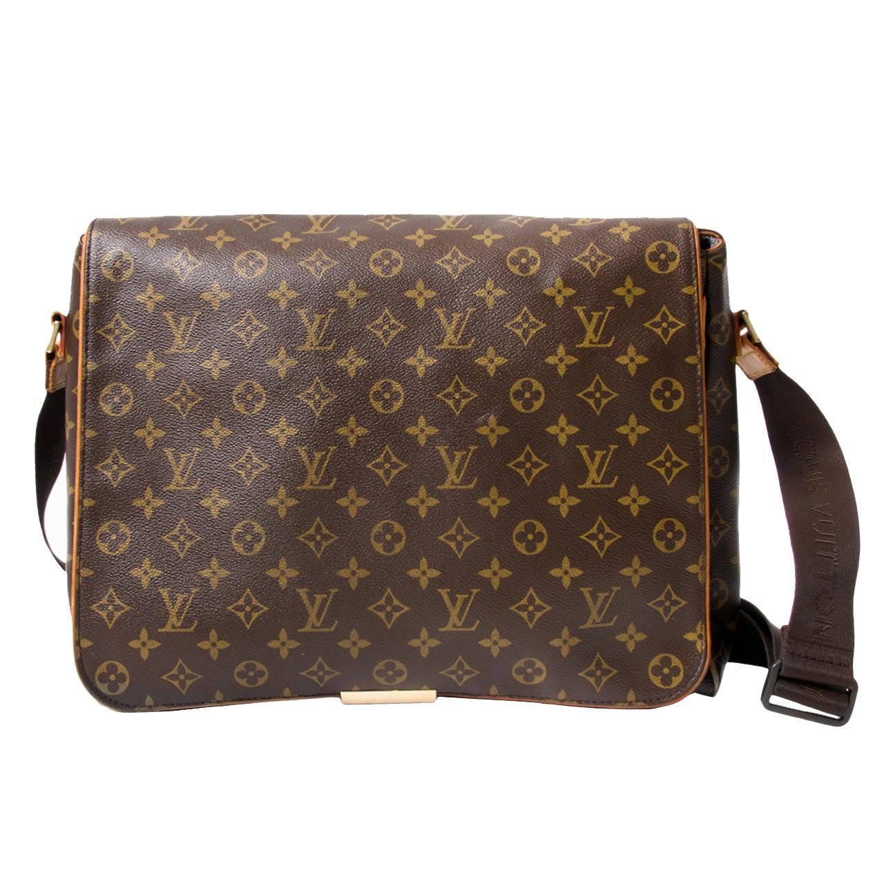 Louis Vuitton Abbesses Messenger Bag For