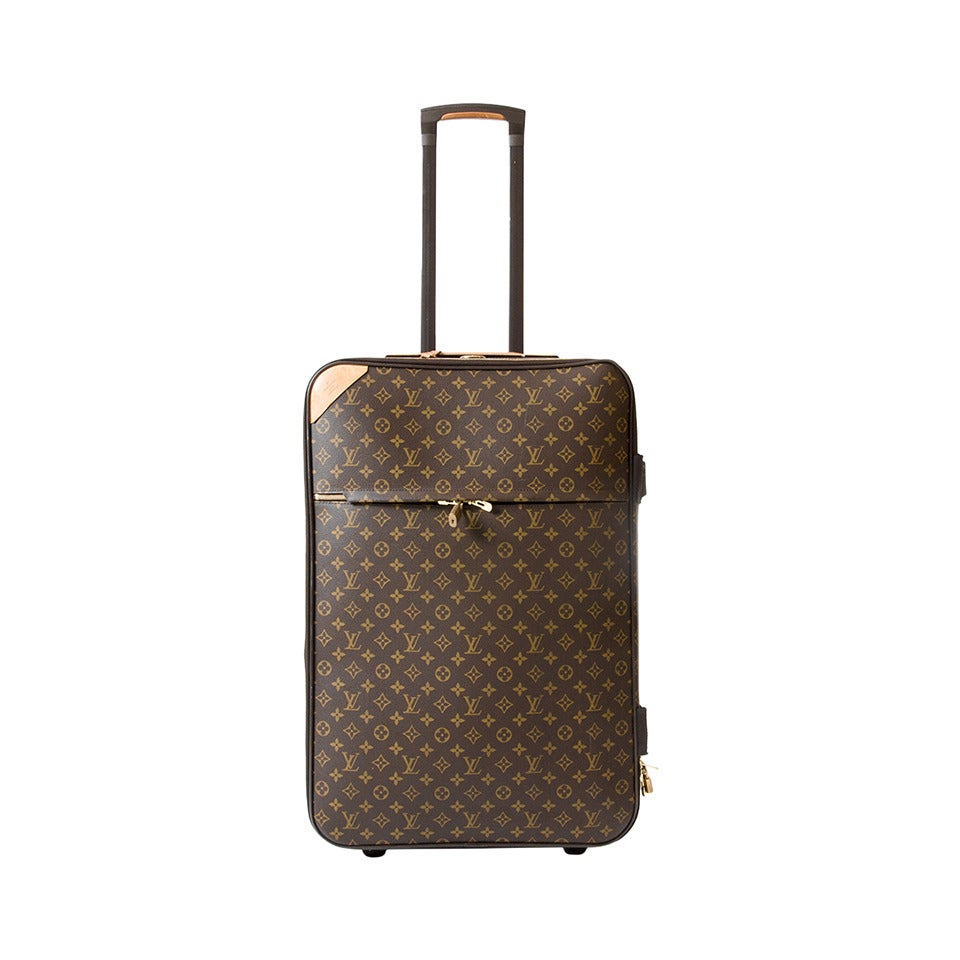 louis vuitton luggage trolley pegase 65 at 1stdibs. Black Bedroom Furniture Sets. Home Design Ideas
