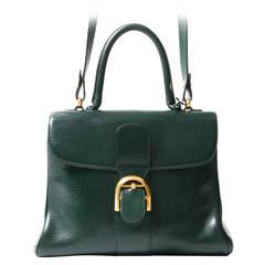 Delvaux Dark Green Brillant MM GHW