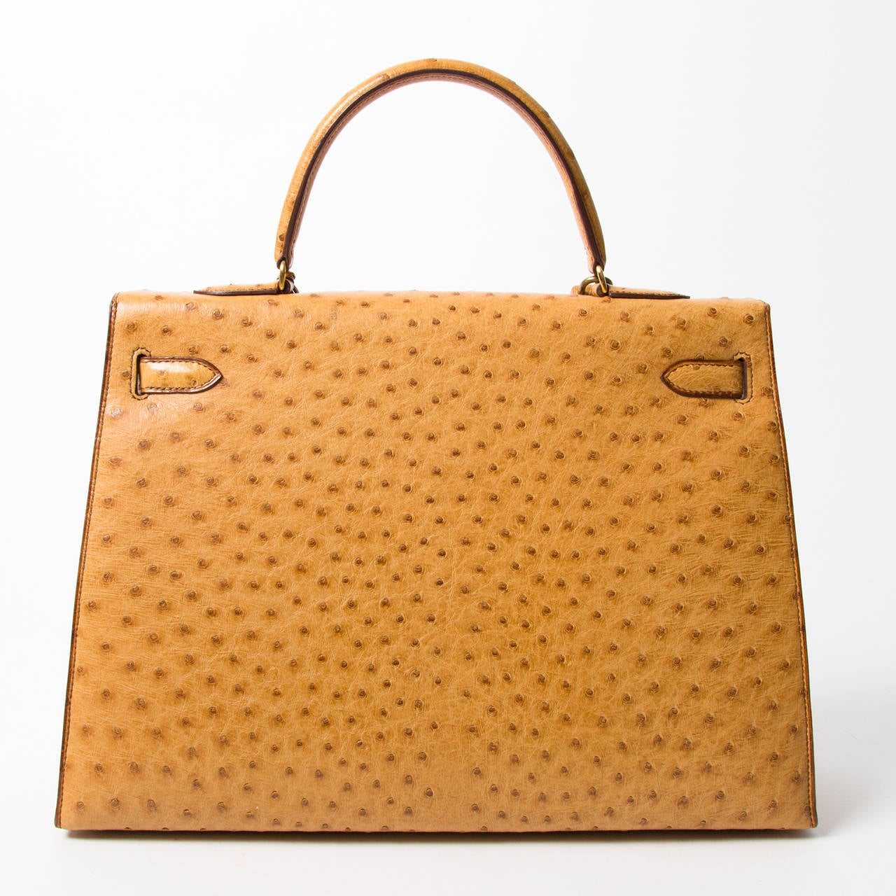 a5ce48c538 Orange Hermes Kelly Ostrich GHW For Sale