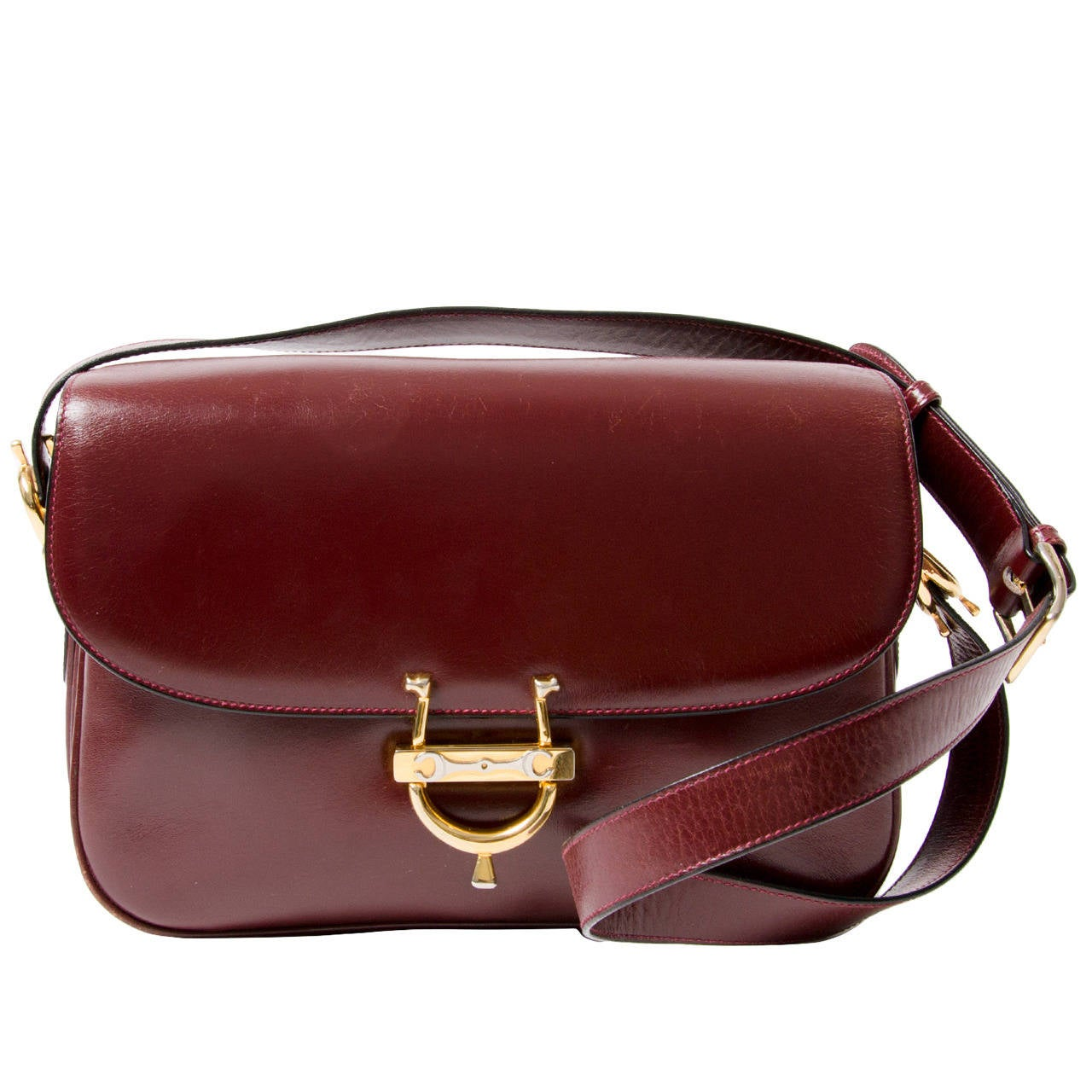 73fd73b141 Celine little brown leather shoulderbag. HomeFashionHandbags and PursesShoulder  Bags. Céline Vintage Burgundy Shoulder Bag For Sale