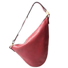 Delvaux Red Acacia Shoulder bag
