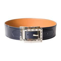 Hermès Double Buckle Belt