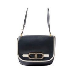 Delvaux Dark Blue Shoulder Bag