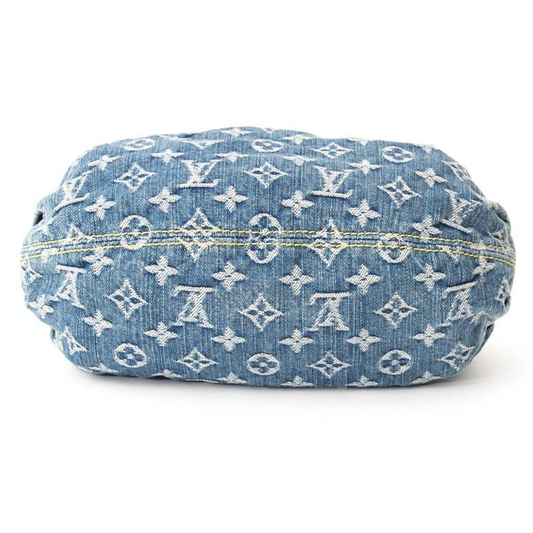 Louis Vuitton Mini Pleaty Denim Monogram Bag  4