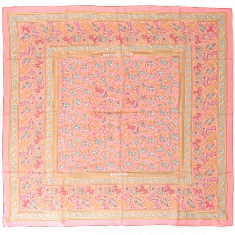 Hermès Mousseline Silk Scarf 2