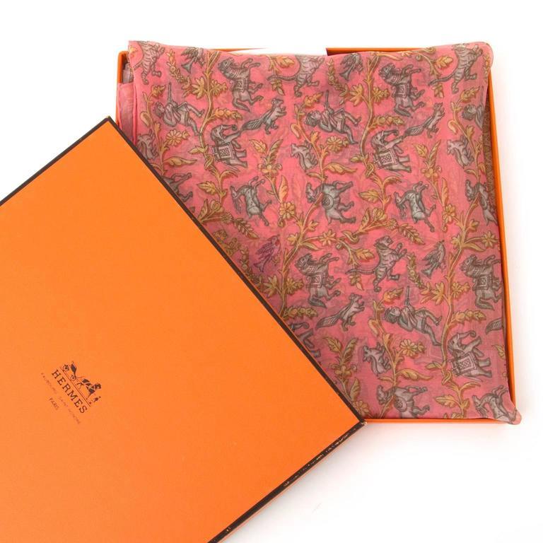 Hermès Mousseline Silk Scarf 5