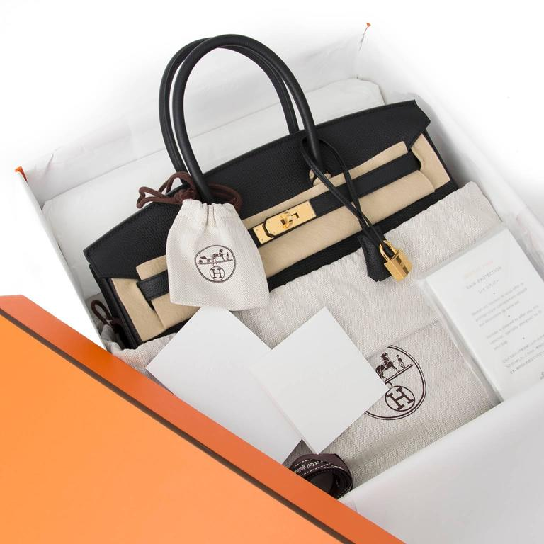 Brand New Hermes Birkin Black Togo 35 GHW  For Sale 3