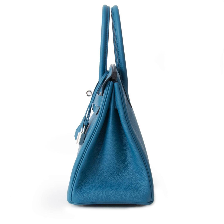 where to buy hermes bags - Brand NEW Hermes Birkin Togo Cobalt 30 PHW For Sale at 1stdibs