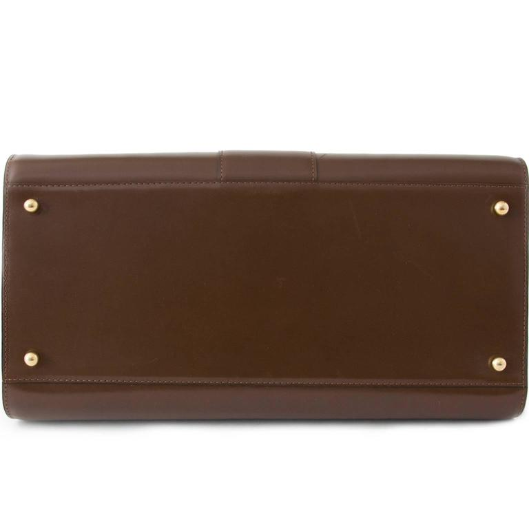 Delvaux Brillant GM Noisette 5